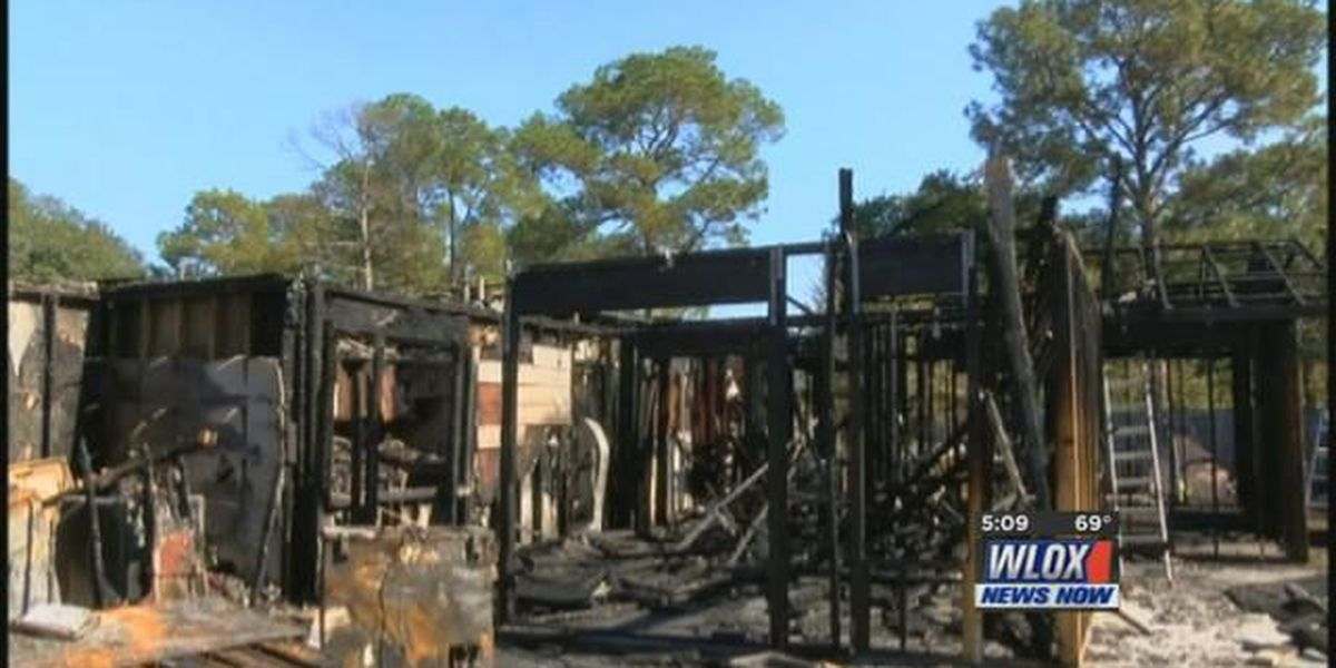 Couple looks to God for guidance after fire destroys their home