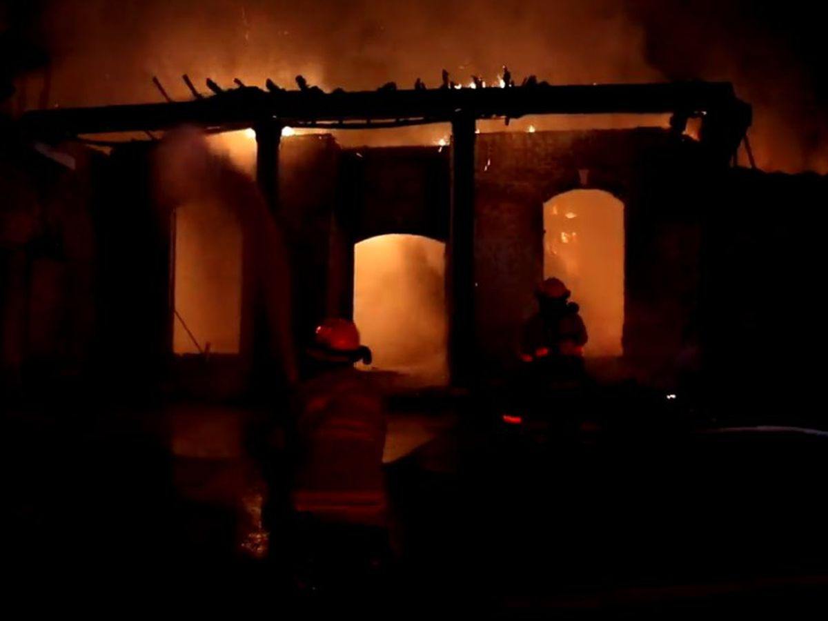 Investigators look for cause of destructive Harrison Co. house fire