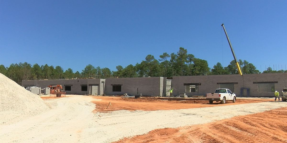 Biloxi district gives WLOX first tour of new junior high school
