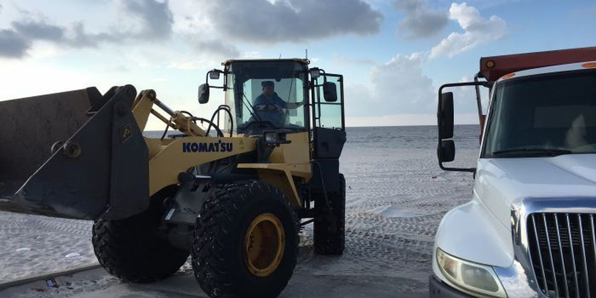 July 5th kicks off a busy week for beach cleaning crews