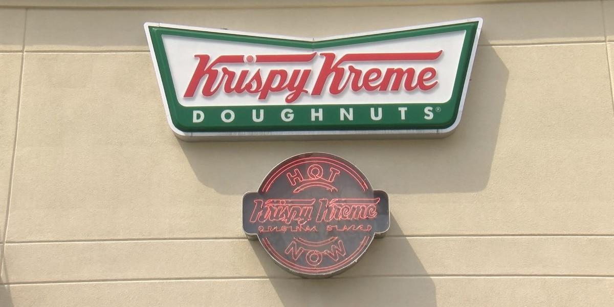 Krispy Kreme giving healthcare workers free doughnuts on Mondays