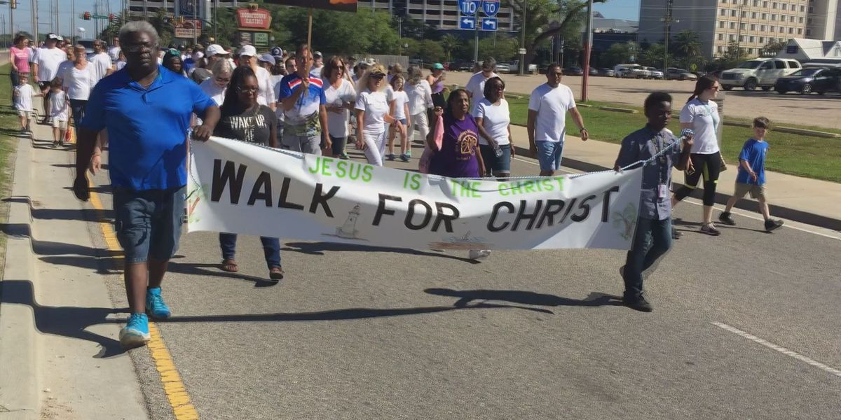 Walk for Christ hits the pavement in Biloxi