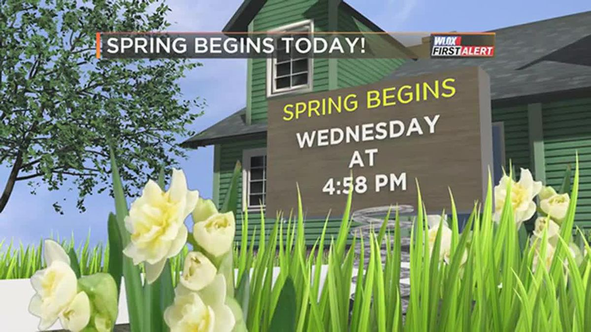 FORECAST VIDEO: 3-20-19 Spring begins at 4:58 PM today. It'll be beautiful!