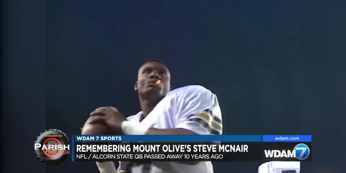 Remembering Mount Olive's Steve McNair, 10 years after his death