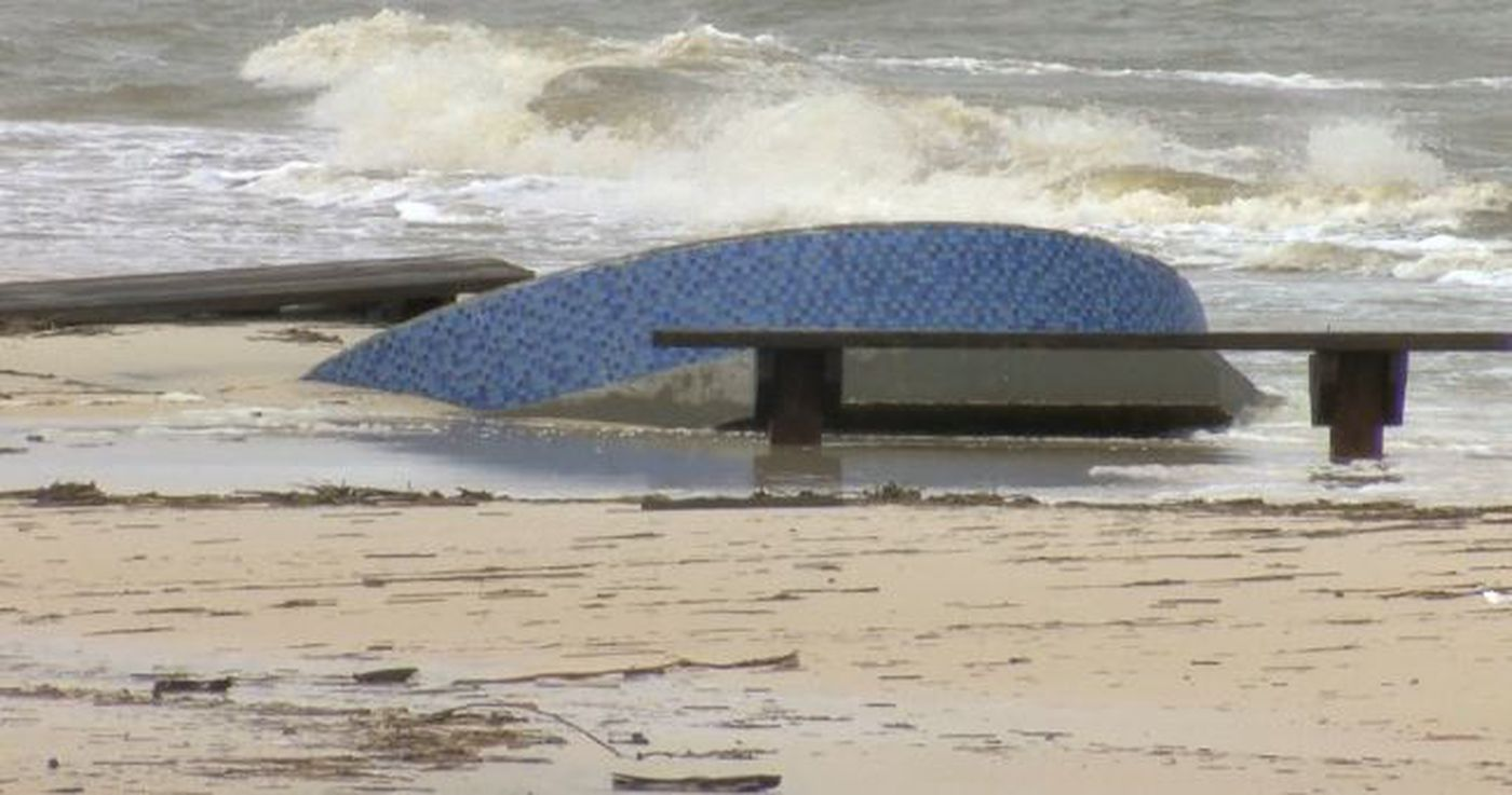 South Mississippi Beaches In Disrepair After Tropical Storm
