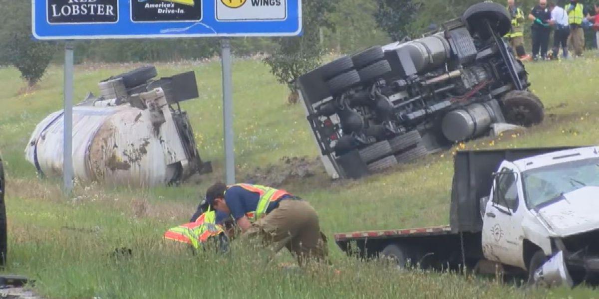 DASHCAM VIDEO: Survivor recounts 'final destination experience' after accident on I-10