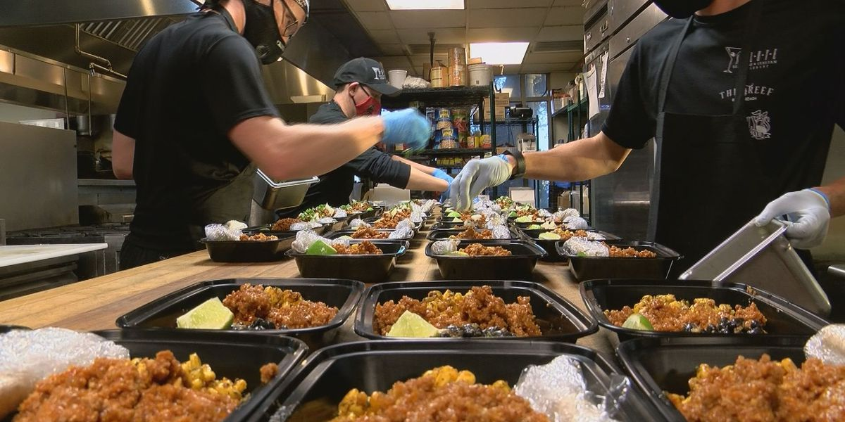 Salute Restaurant working with Memorial Hospital to provide healthy meal prep