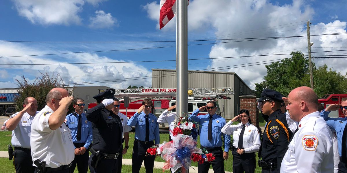 D'Iberville remembers victims of 9/11 and first responders