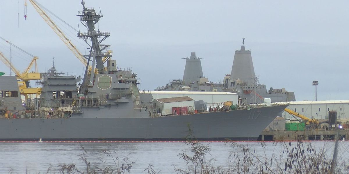 2017 defense budget could bring more work for MS shipbuilders