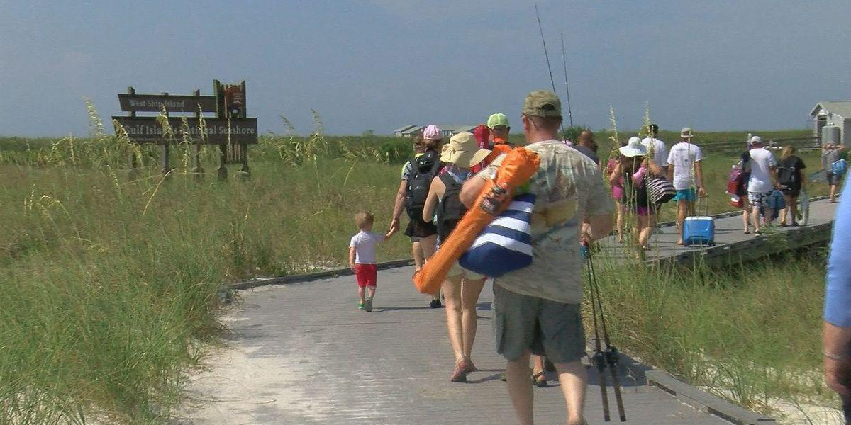 Ship Island offers welcome summer getaway