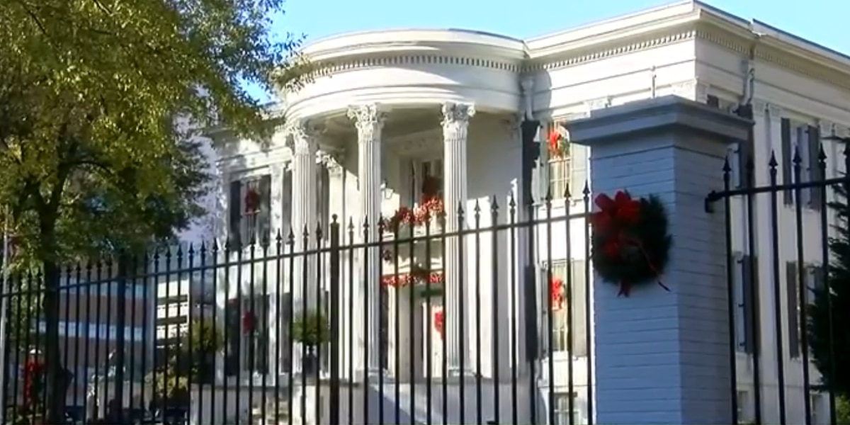 Governor's Mansion to reopen for tours April 1
