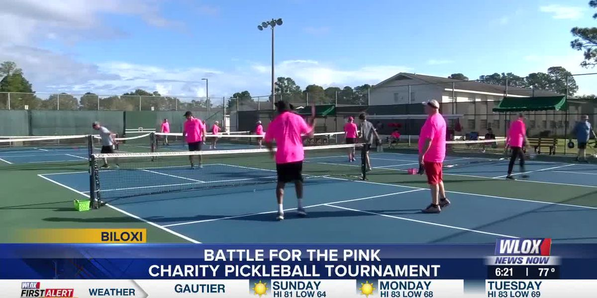 Pickleball tournament raises money for American Cancer Society