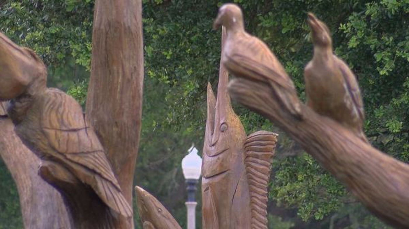 Some iconic katrina carvings face uncertain future
