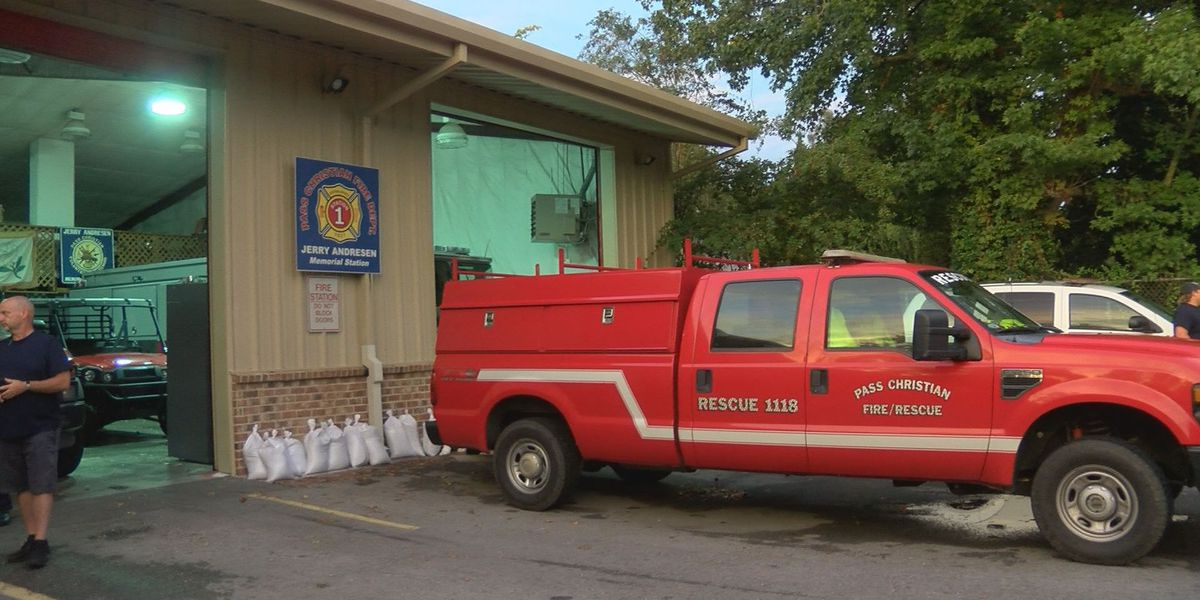 Coast firefighters prepare for Hurricane Sally