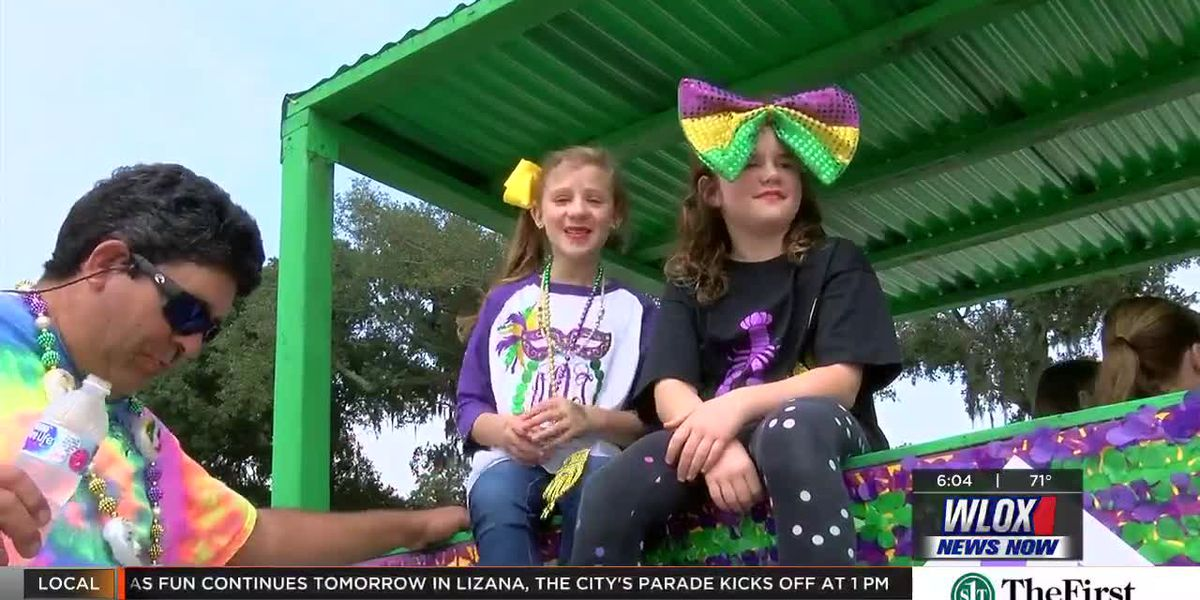 Ocean Springs Elks Mardi Gras Parade filled with special guests