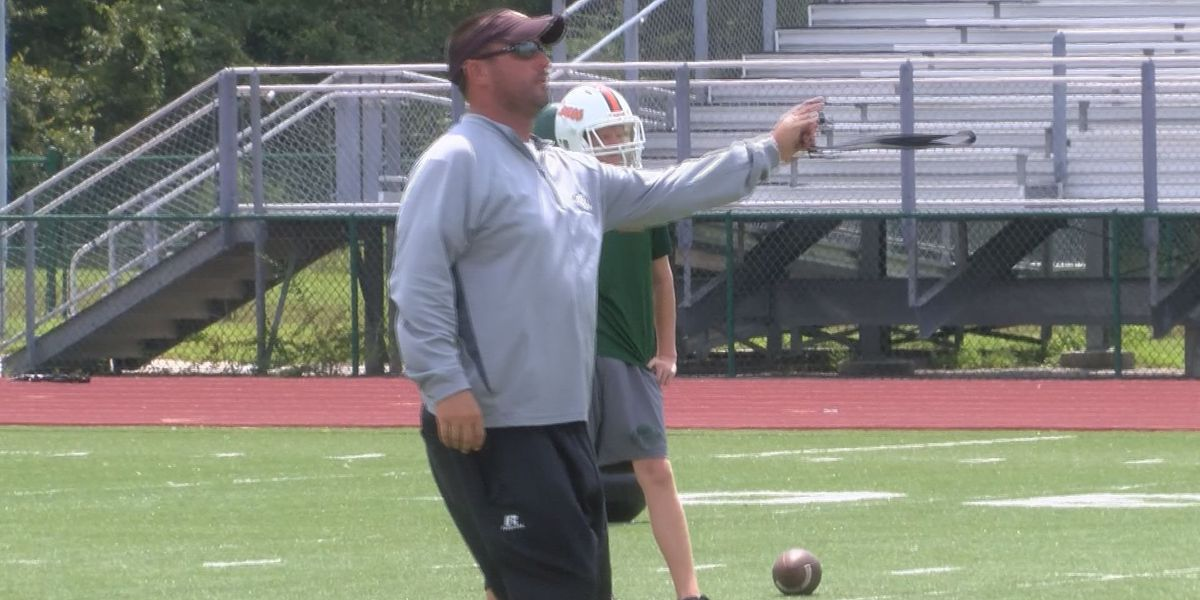 Coach Tracy Rogers is ready to build West Harrison football into a winner