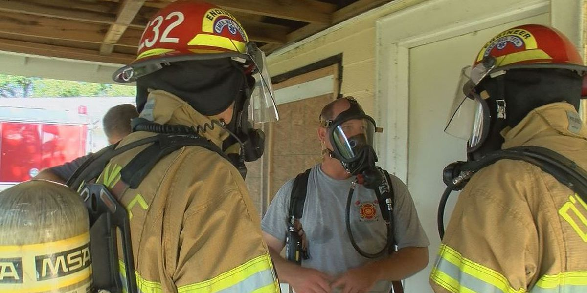 D'Iberville firefighters getting real-world training