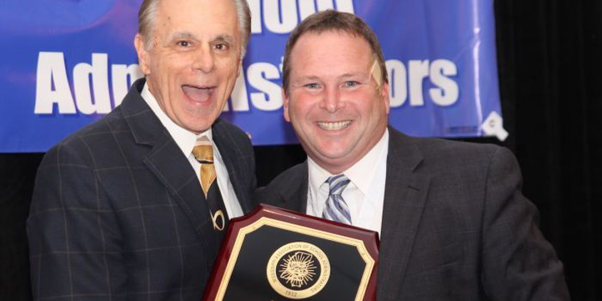 Jackson County's Dr. Amacker named Superintendent of the Year