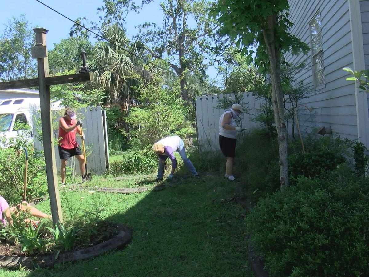 Wishing Well: Picayune hospice company revamps Bay St. Louis woman's garden