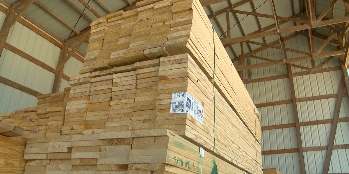 Rising lumber costs have domino effect on new homes being built