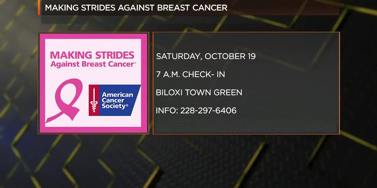 Happening October 19th: Mississippi Gulf Coast Making Strides Against Breast Cancer