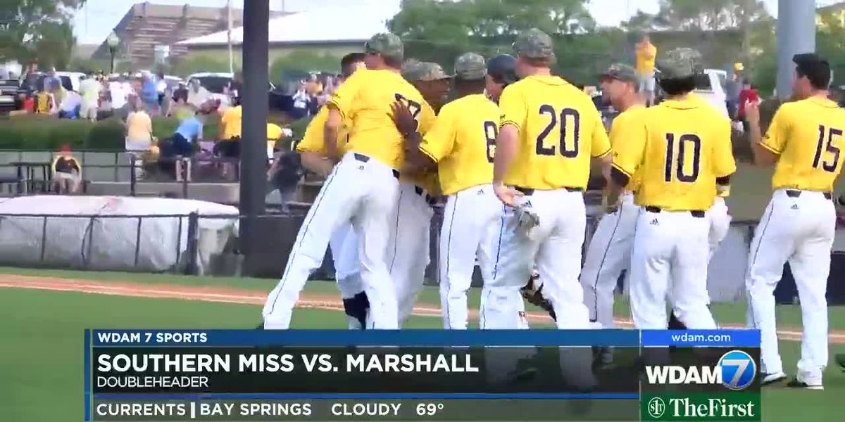 Southern Miss sweeps Marshall baseball series