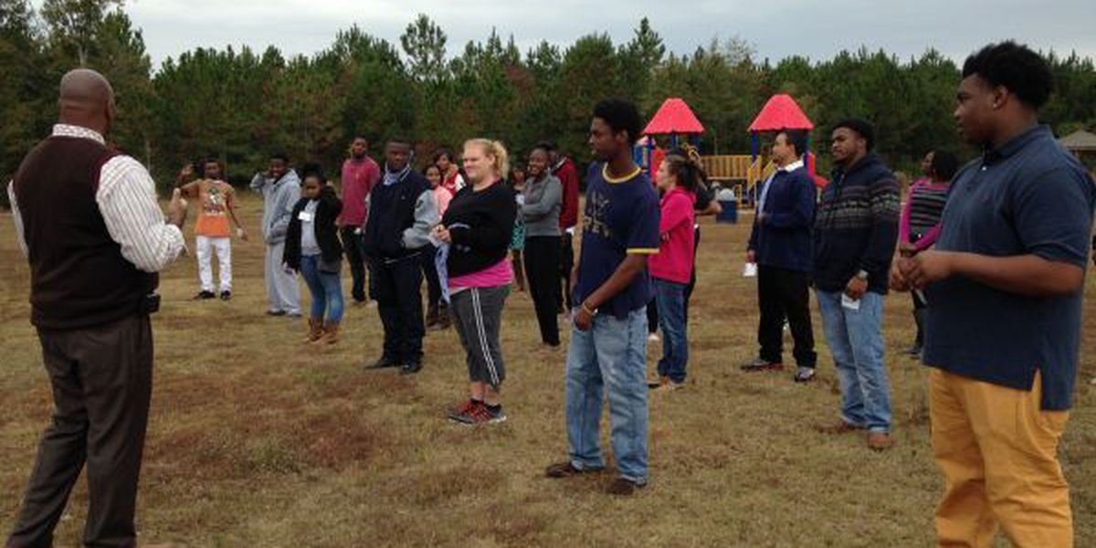 Candidates compete in mental challenge for spot in program to help at-risk youth