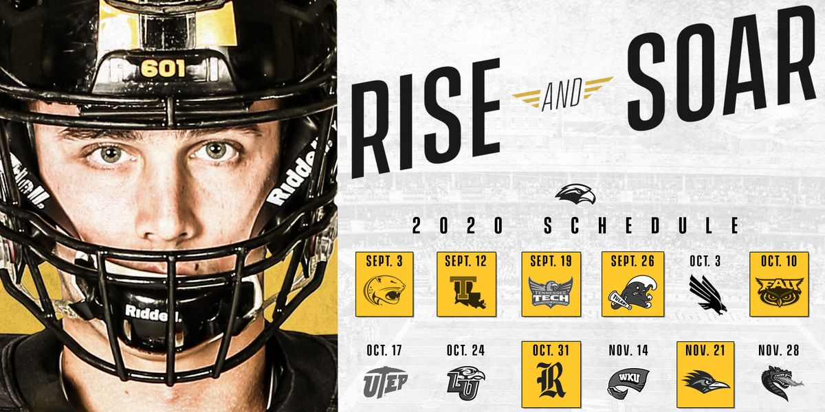 Southern Miss release revised 2020 schedule