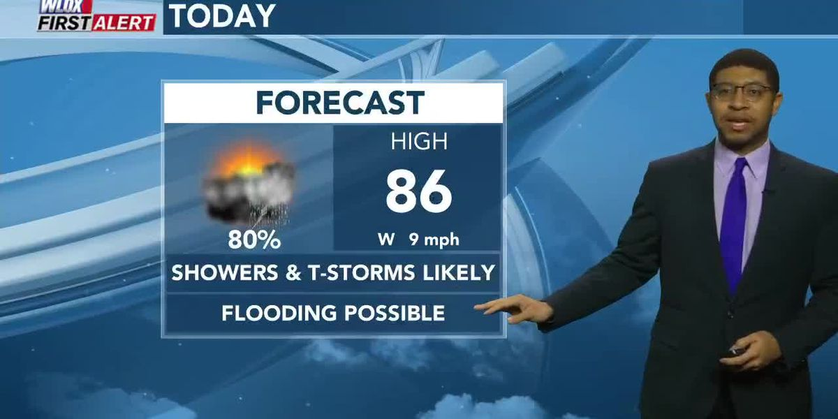Wesley's Monday Afternoon First Alert Forecast