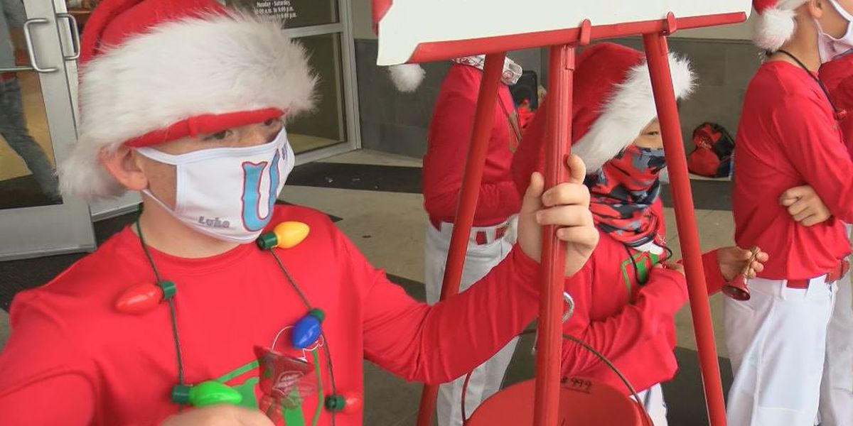 Youth baseball team steps up to the plate to help Salvation Army