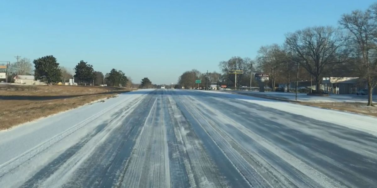 Stone County drivers deal with icy, dangerous roads