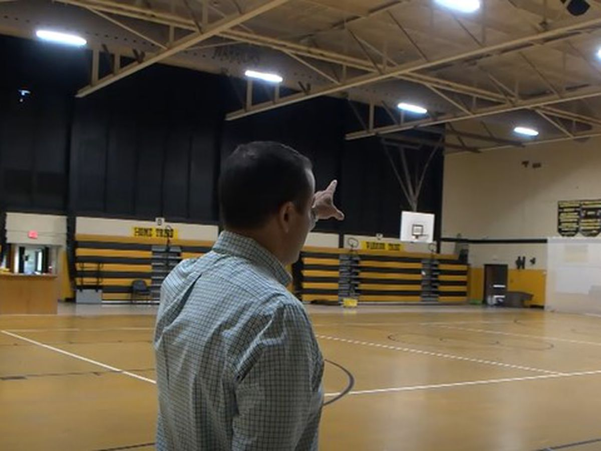 D'Iberville Middle School gym gets emergency repair funds
