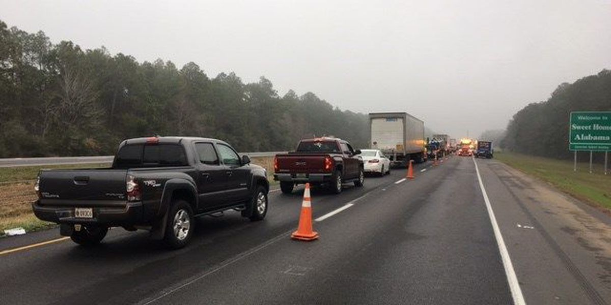 All lanes now open on I-10 near MS/AL line