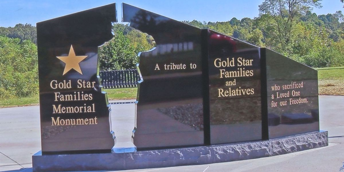 Groundbreaking held for Gold Star monument set to go up in Biloxi