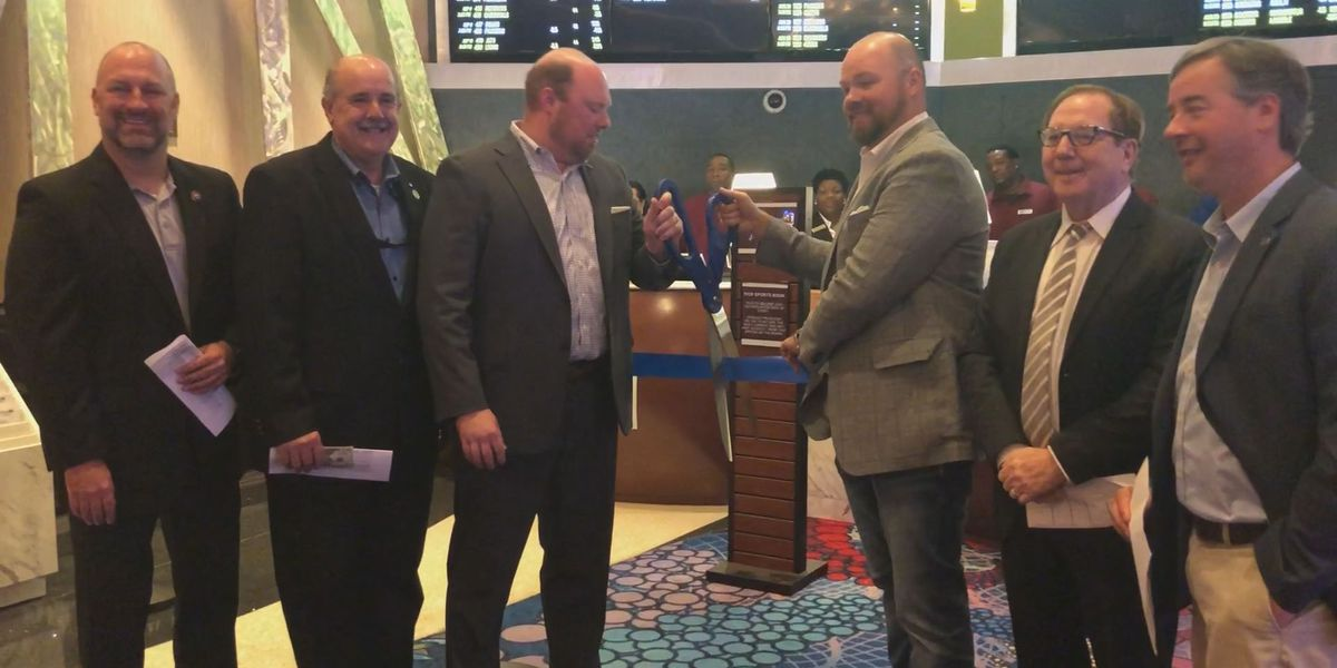 Island View casino cuts ribbon on sportsbook