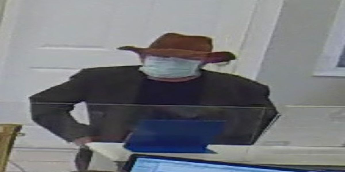 George County deputies looking for credit union robbery suspect