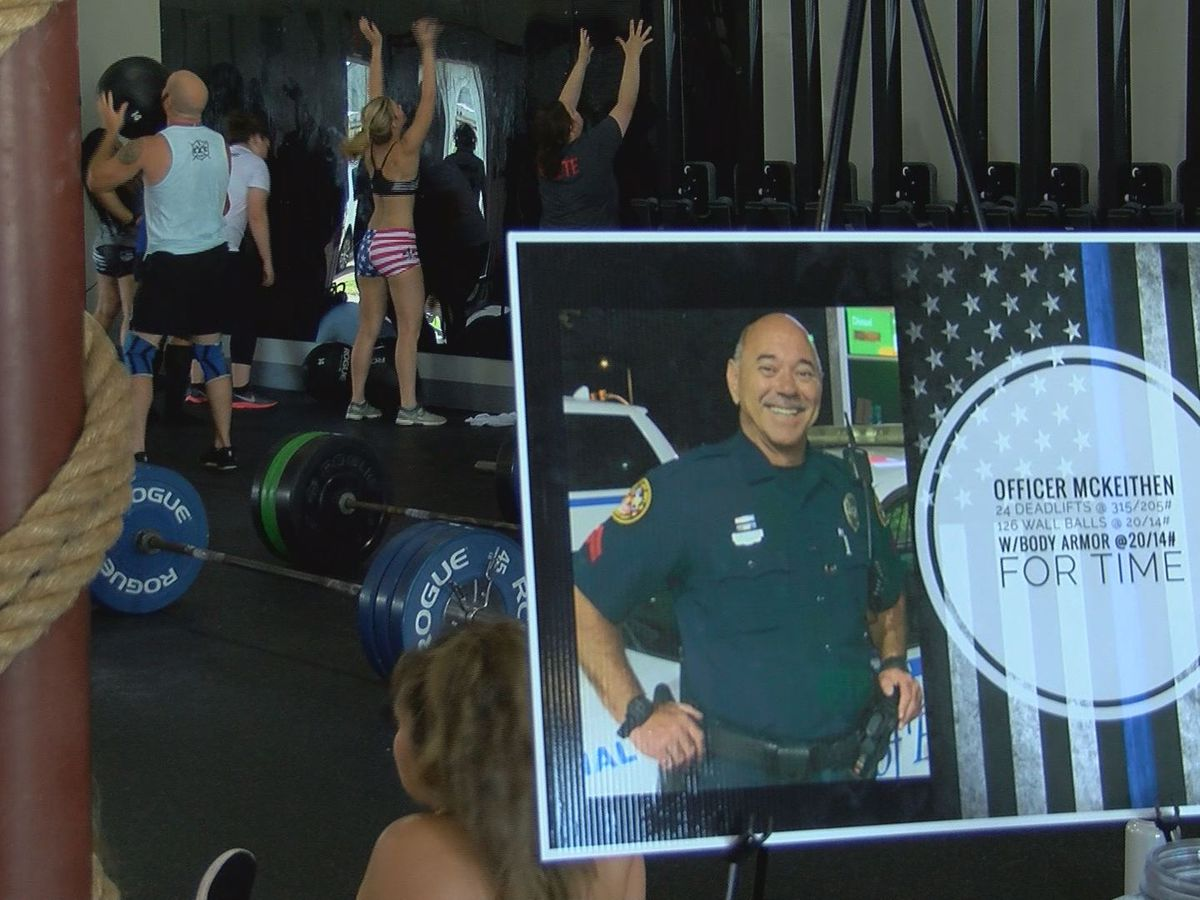 Crossfitters honor fallen Biloxi police officer