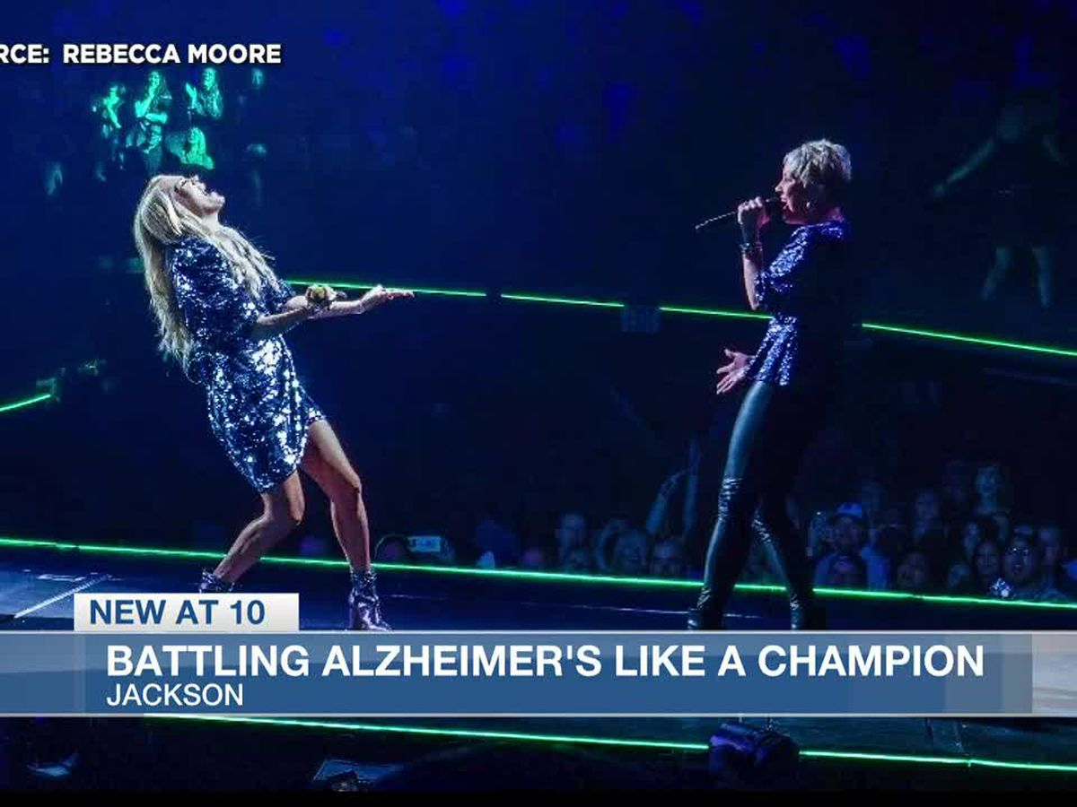 Jackson woman brings awareness to Alzheimer's while singing with Carrie Underwood
