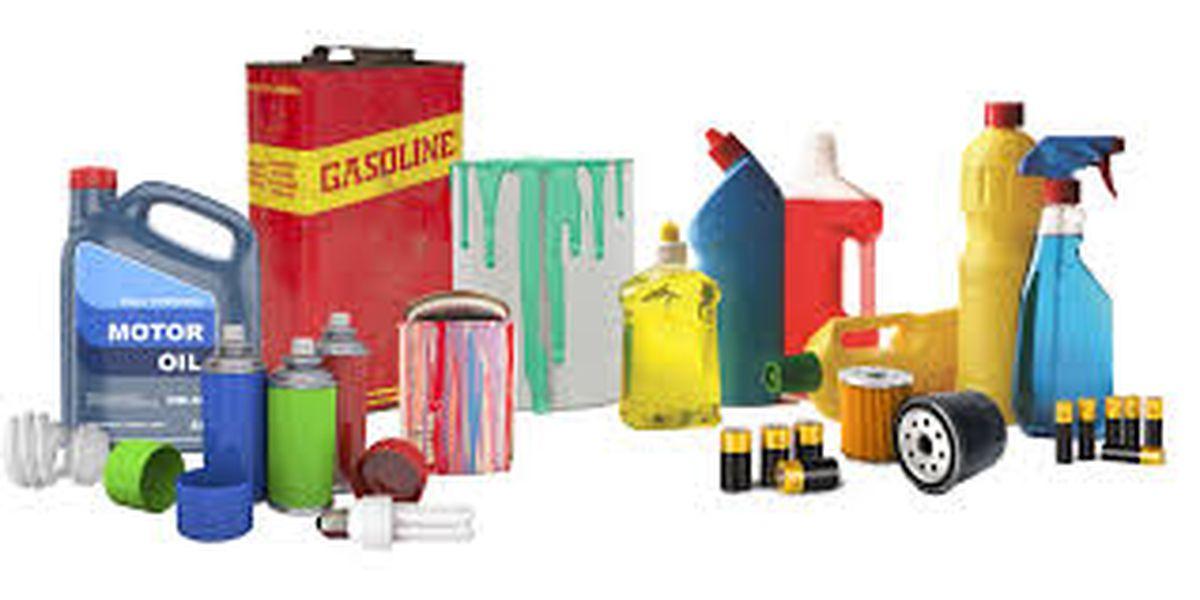Throw away hazardous household waste in Hancock County Saturday