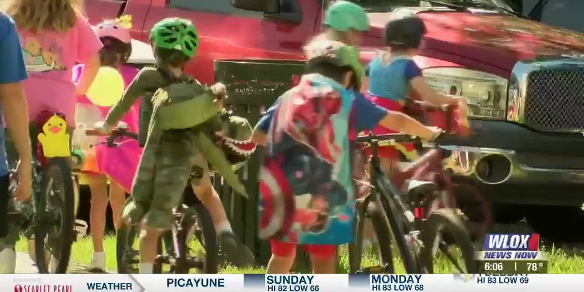 Ocean Springs hosts Osprey Bike Parade