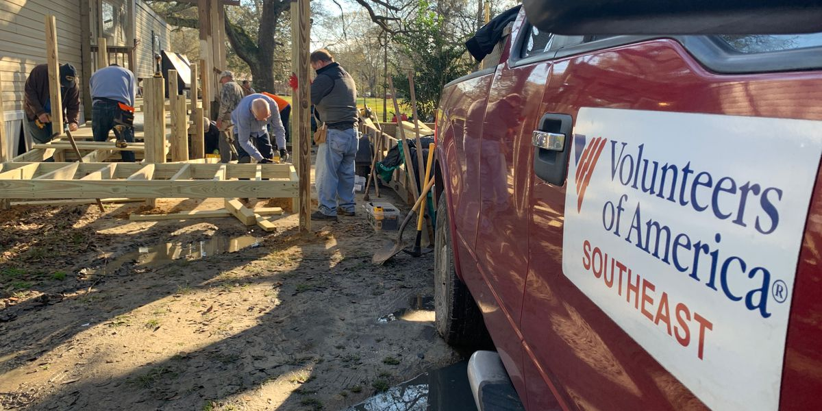 Volunteers restore hope by building ramps for those with disabilities
