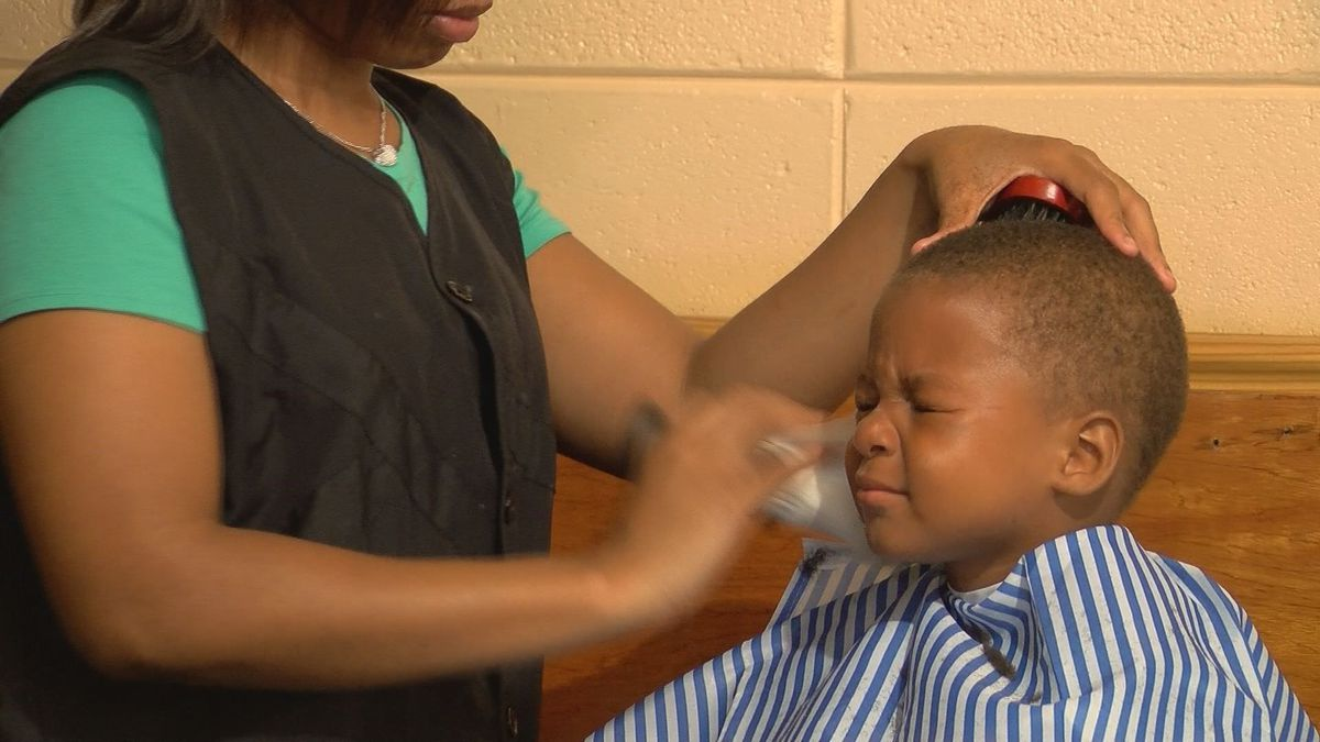 Free Haircuts In Gulfport Get Kids Ready For First Day Of School