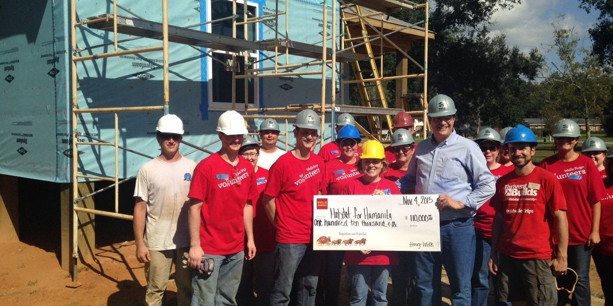 Wells Fargo lends Habitat for Humanity a helping hand