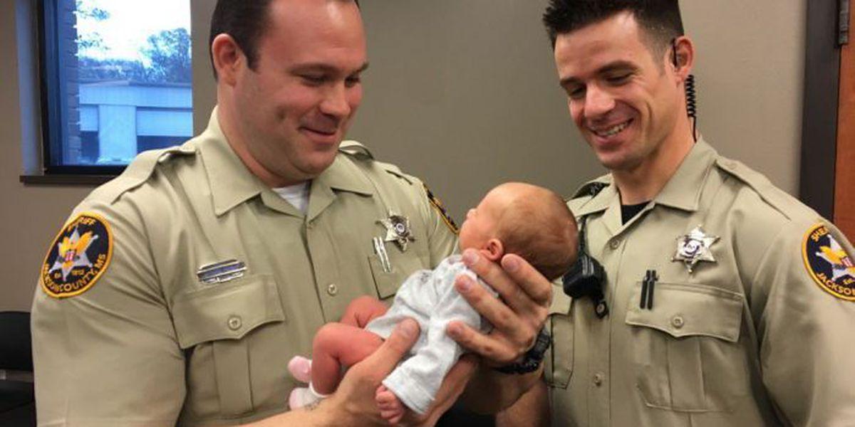 Family thanks deputies who saved baby's life