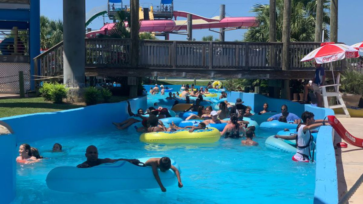 Tourists visit Coast water attractions during hot Memorial Day Weekend