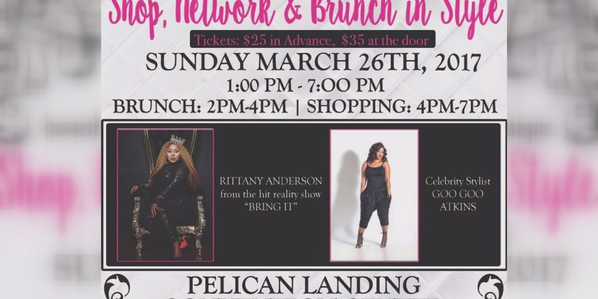 Celebs headed to Moss Point for Glam Brunch