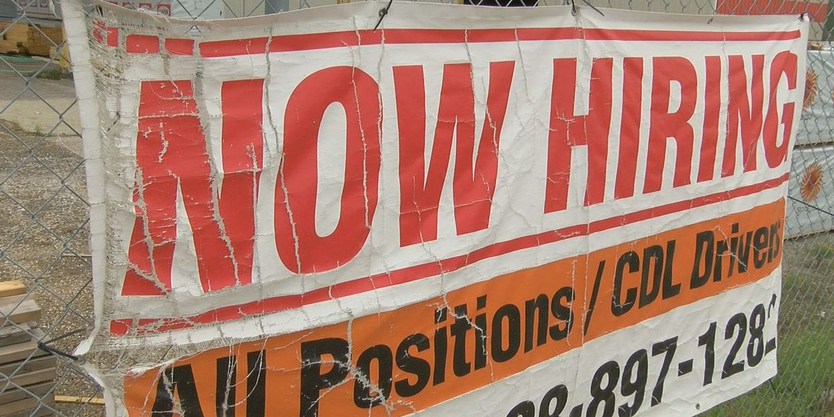 Unemployment numbers down, available jobs are up