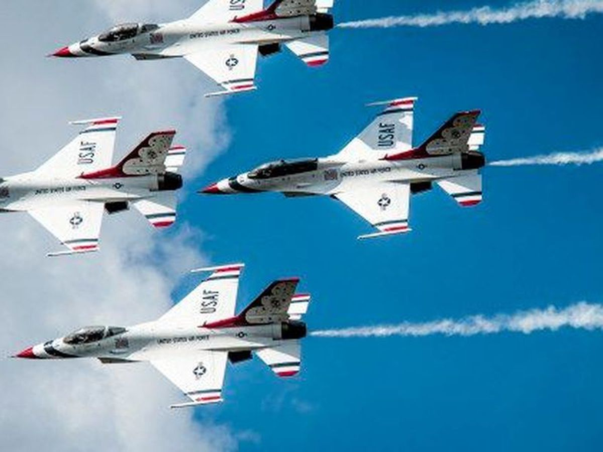Keesler, Biloxi prepare to host Thunderbirds for spring air show