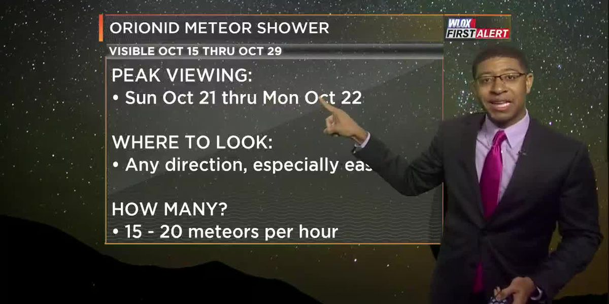 Orionid Meteor Shower peaking this weekend. Here's what to expect.