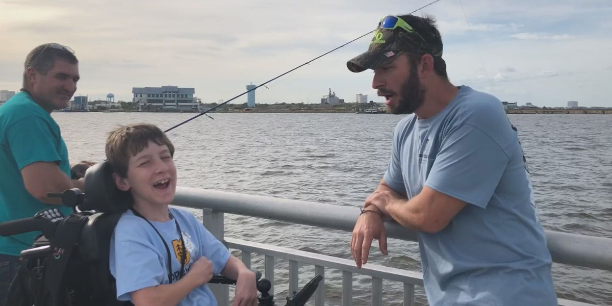Hope Outdoors holds inaugural fishing trip for disabled in Biloxi